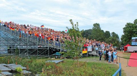 FISA Junioren-Ruder-WM an der Hamburger Dove-Elbe