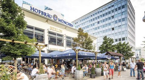 Sprachalarmierung und Beschallung im Hofbräu Berlin