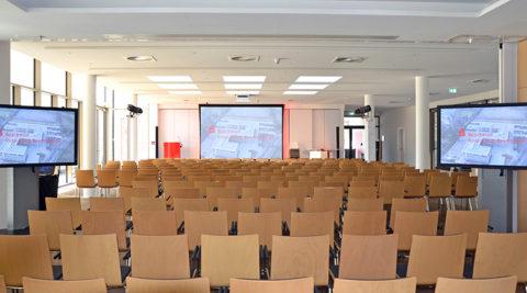 Medientechnik in der Sparkasse Rotenburg-Bremervörde