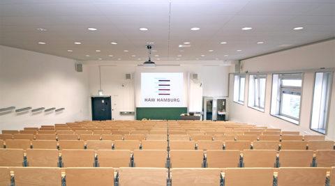 Medientechnische Ausstattung für die HAW Hamburg