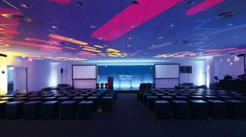 GET Nord Planner's Arena auf dem Hamburger Messegelände
