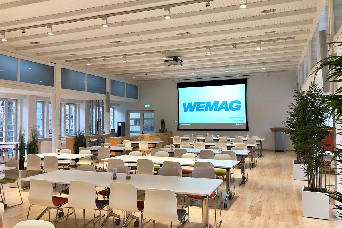 Konferenz- und Beschallungstechnik für die WEMAG