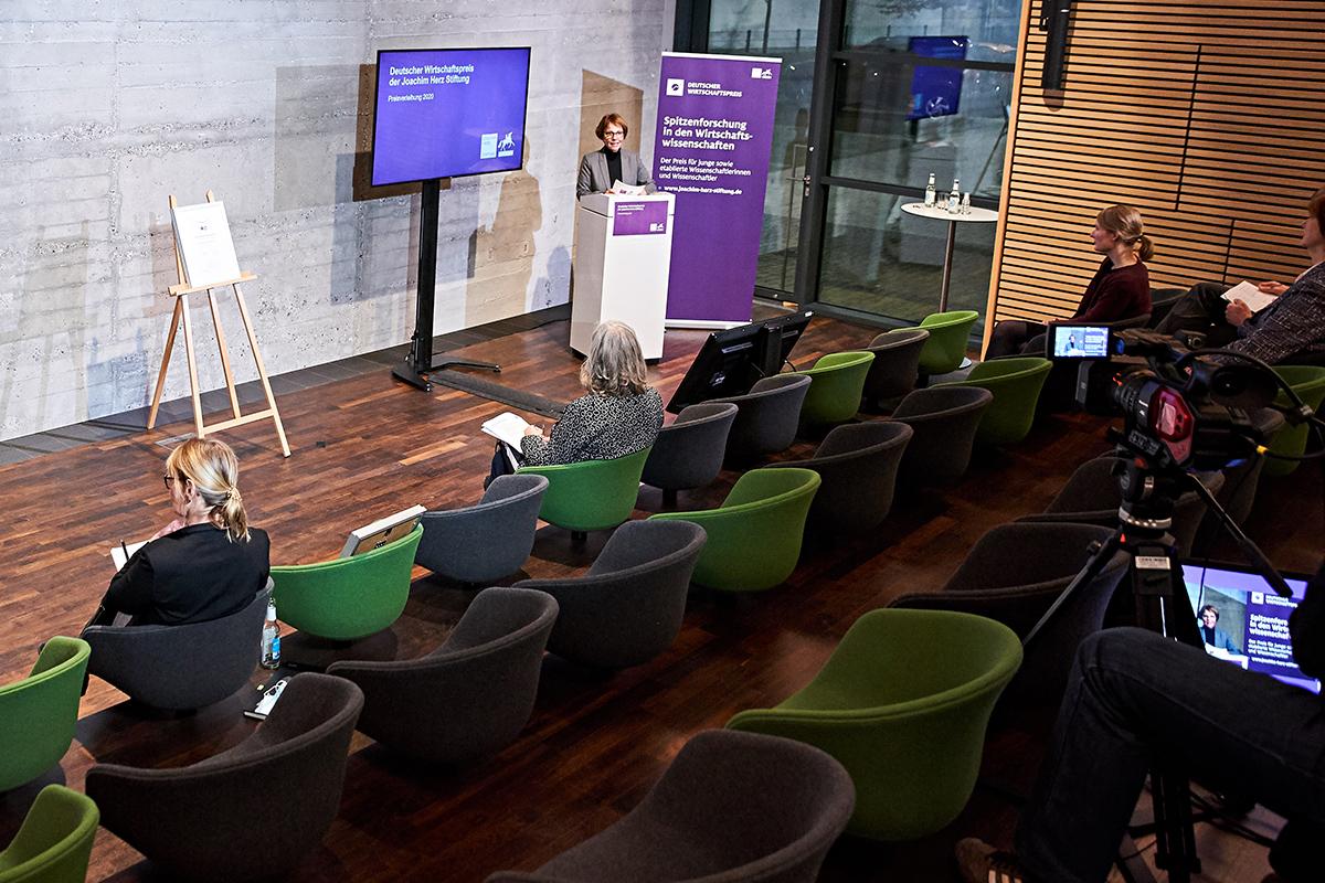Verleihung des Deutschen Wirtschaftspreises fand als Hybrid-Veranstaltung statt