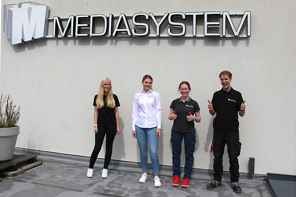 Start in die Zukunft: Ausbildung bei Mediasystem